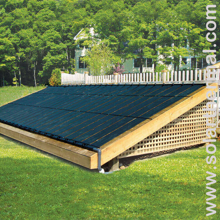 Enersol Solar Pool Panel 1 X12 Solarthermal Com