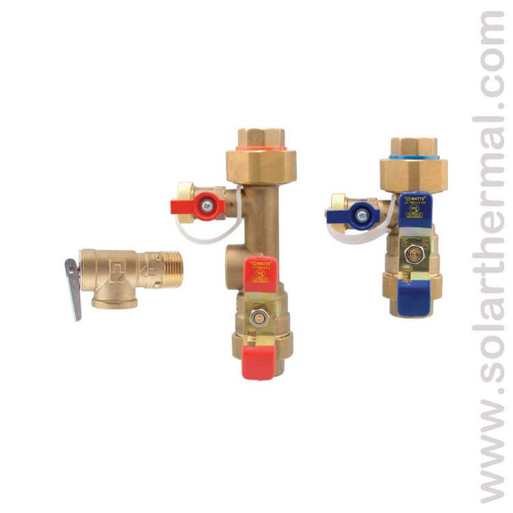 Tankless Water Heater Shutoff Valves Watts 3 4 Lftwh Fs