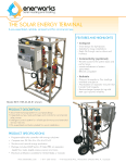 Enerworks Premier Collector Specification Sheet