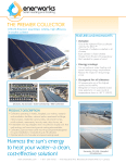 Enerworks Premier Collector Specification Sheet