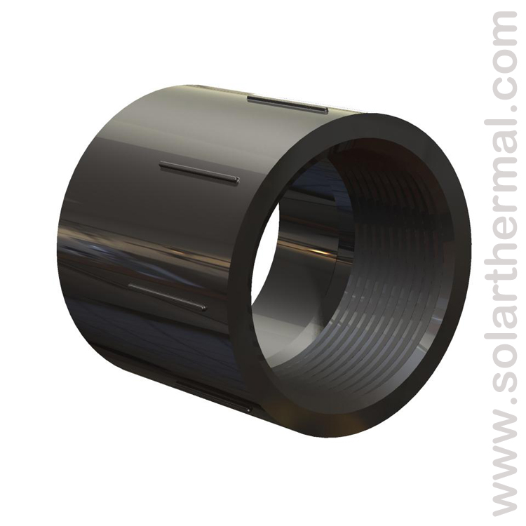 Black pvc pipe fittings cement and tools solarthermal