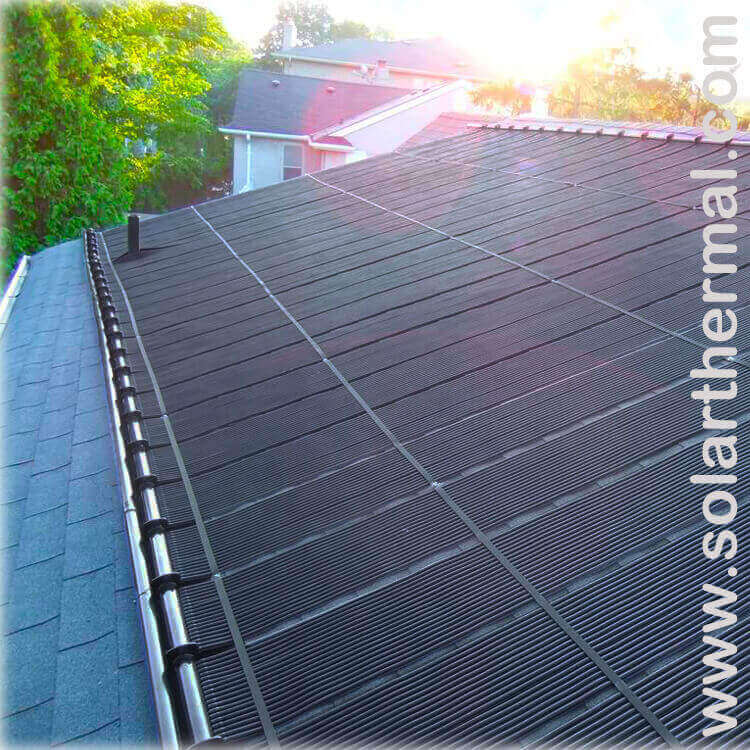 Enersol Solar Pool Panel 1 X10 Solarthermal Com
