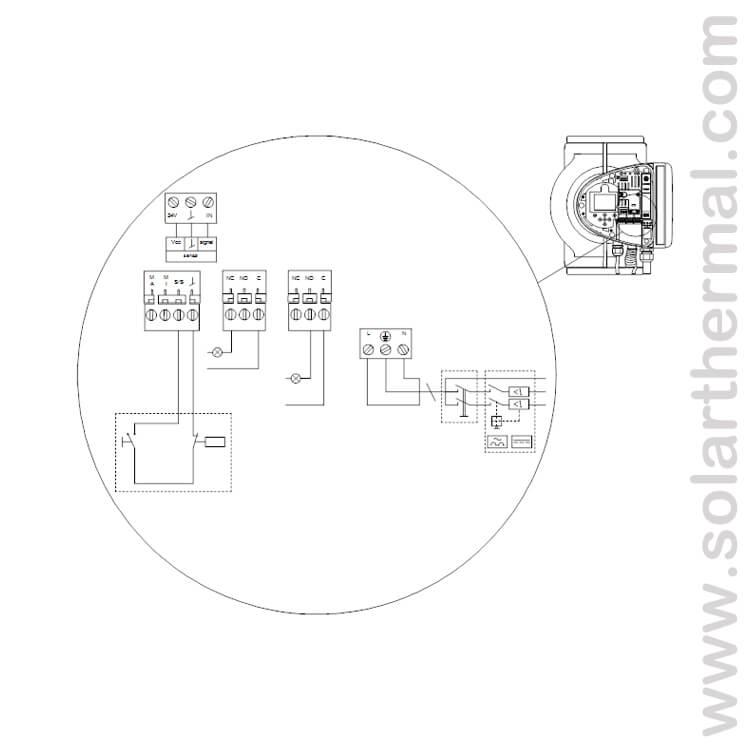 grundfos pump magna3 40 80 f 208 230v cast iron variable. Black Bedroom Furniture Sets. Home Design Ideas