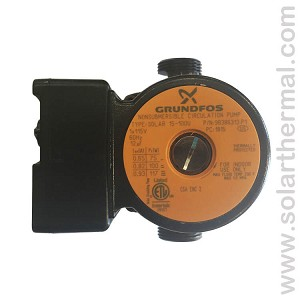 Grundfos UP 15-100U 3-speed pump - 98386313 - Caleffi NA12171