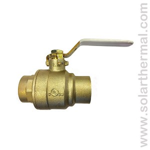 "1.25"" (CxC) Ball Valve (Full port) Lead Free LF-FBVS-3C"
